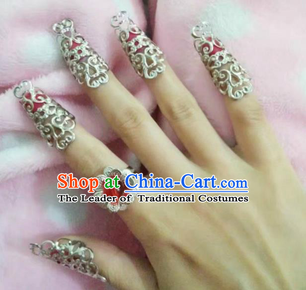 China Ancient Palace Accessories Nail Wrap Chinese Traditional Jewelry for Women