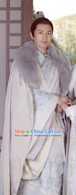 Chinese Ancient Nirvana in Fire General Nobility Childe Xiao Pingzhang Replica Costume for Men