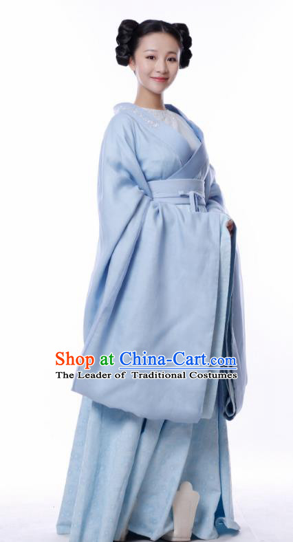 Chinese Ancient Television Drama Untouchable Lovers Northern and Southern Dynasties Court Maid Embroidered Replica Costumes for Women