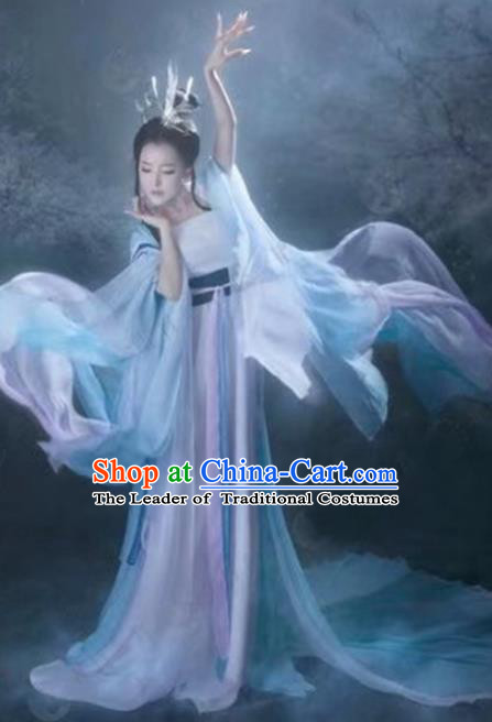 Chinese Traditional Tang Dynasty Palace Lady Hanfu Dress Ancient Imperial Concubine Costume for Women