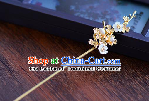 Ancient Chinese Handmade Hair Accessories Xiuhe Suit Hairpins Pearls Hair Clip for Women