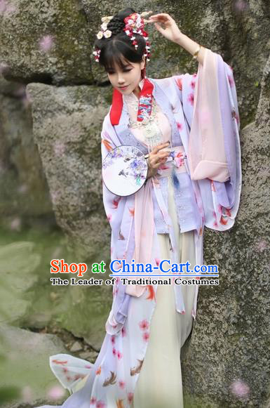 Chinese Ancient Costume Nobility Lady Hanfu Dress Song Dynasty Princess Costume for Women