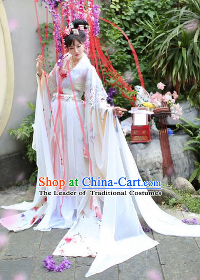 Chinese Ancient Palace Princess Costume Song Dynasty Imperial Consort Hanfu Dress for Women