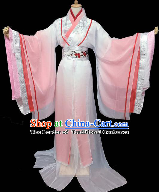 Chinese Ancient Cosplay Fairy Hanfu Dress Traditional Han Dynasty Princess Costume for Women