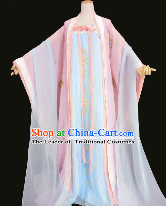 Chinese Traditional Tang Dynasty Imperial Consort Hanfu Dress Ancient Cosplay Palace Lady Costume for Women