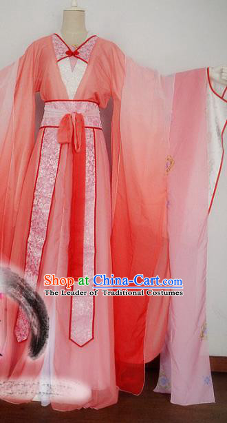 Chinese Tang Dynasty Empress Hanfu Dress Ancient Fairy Traditional Clothing for Women