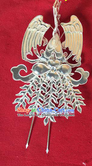 Traditional Chinese Miao Nationality Phoenix Hair Clip Hairpins Hair Accessories for Women