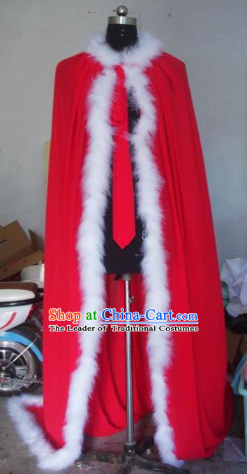 Chinese Traditional Beijing Opera Actress Costumes China Peking Opera Red Cloak for Adults