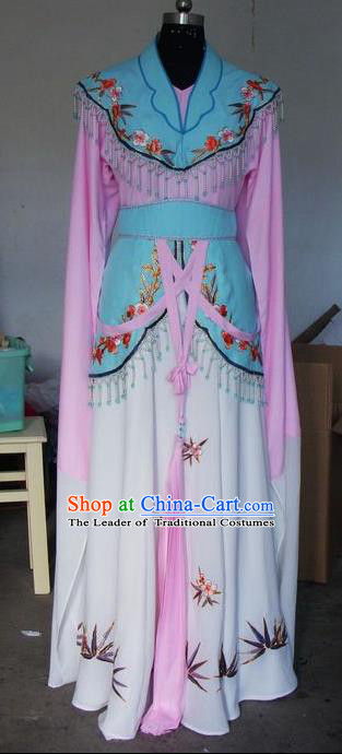 Chinese Traditional Beijing Opera Embroidered Costumes China Peking Opera Actress Dress for Adults