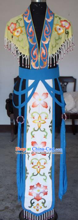 Chinese Traditional Beijing Opera Actress Embroidered Clothing China Peking Opera Princess Costumes for Adults