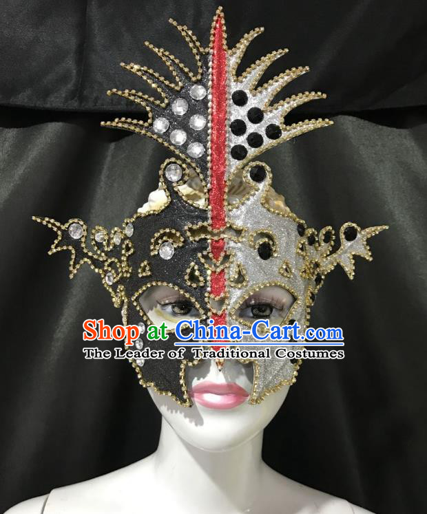 Top Grade Halloween Black Mask Easter Masked Ball Mask for Women
