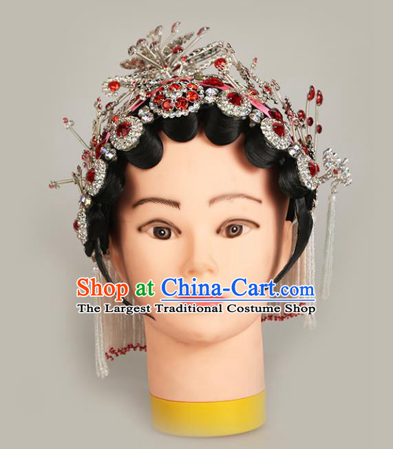 Top Grade Chinese Beijing Opera Hair Accessories Peking Opera Actress Headwear for Women