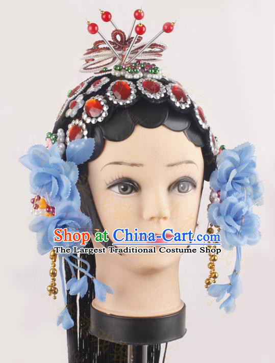 Top Grade Chinese Beijing Opera Hair Accessories Peking Opera Diva Headwear Complete Set for Women