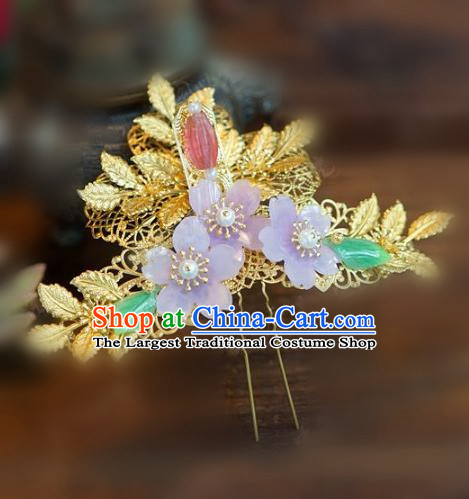 Chinese Handmade Ancient Hair Accessories Ancient Hanfu Hairpins for Women
