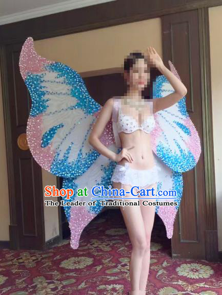 Top Grade Catwalks Swimsuit Butterfly Wing Stage Performance Model Show Customized Wings for Women