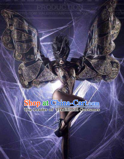 Top Grade Catwalks Prop Miami Deluxe Butterfly Wings Model Show Customized Wings for Women
