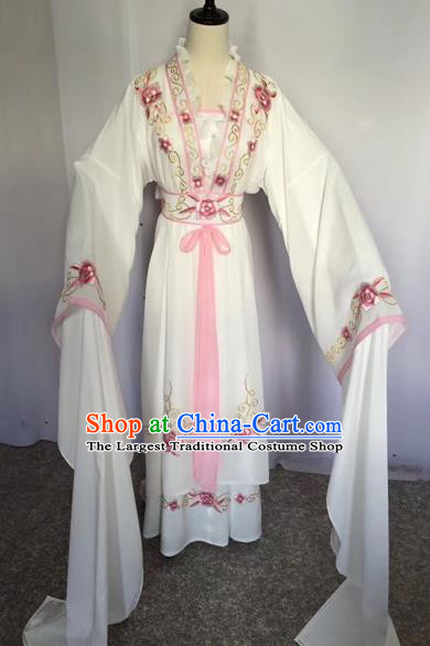 Chinese Traditional Peking Opera Actress Dress Beijing Opera Princess Embroidered Costumes for Adults