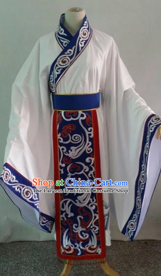 Chinese Traditional Beijing Opera Niche Embroidered Robe Peking Opera Minister Costume for Adults