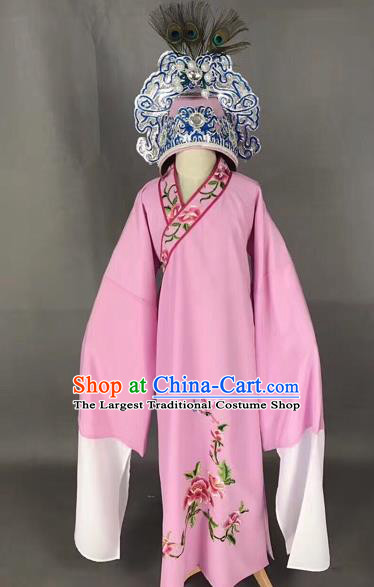 Chinese Traditional Beijing Opera Niche Robe Peking Opera Young Men Costume for Adults