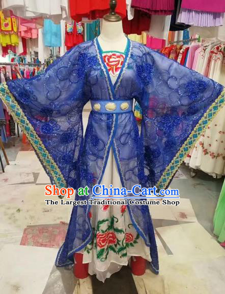Traditional Chinese Peking Opera Imperial Consort Costume Beijing Opera Diva Fairy Dress for Adults