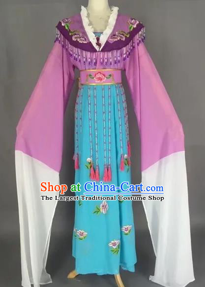 Chinese Beijing Opera Diva Water Sleeve Dress Ancient Imperial Consort Costume for Adults