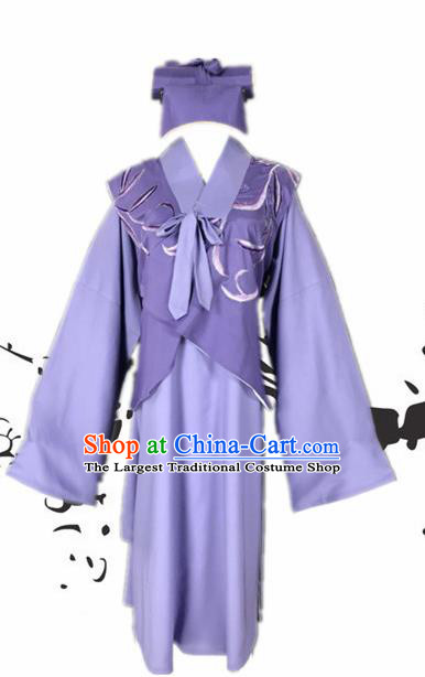 Chinese Beijing Opera Niche Clothing Traditional Peking Opera Childe Costumes and Hat for Adults