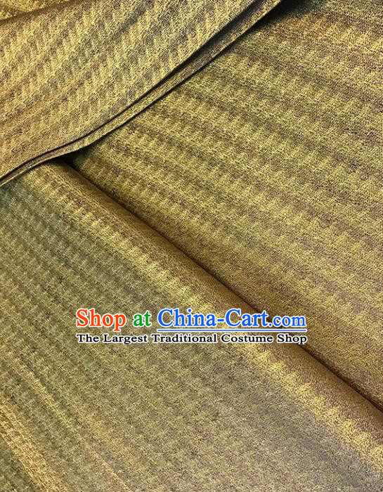 Asian Chinese Traditional Yellow Brocade Fabric Silk Fabric Chinese Fabric Material