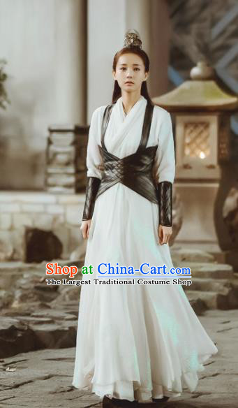 Chinese Ancient Female Assassin Costume Traditional Swordswoman Dress for Women