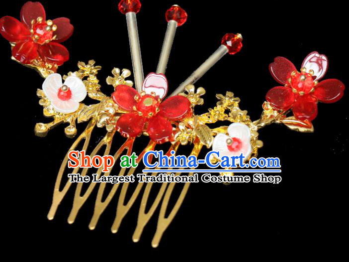 Chinese Traditional Hair Accessories Ancient Hairpins Hair Comb for Women