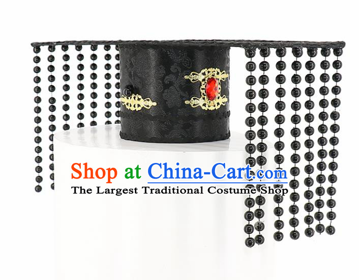Chinese Traditional Hair Accessories Ancient Emperor Headwear for Men