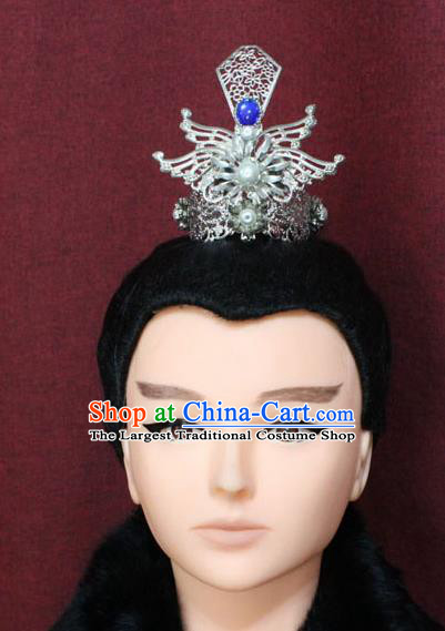 4 Colors Handmade Warrior Hair Accessories Swordsman Cosplay Chinese Ancient Hair Accessories Crown Halloween Prince Cosplay Kids Costumes & Accessories Costumes & Accessories