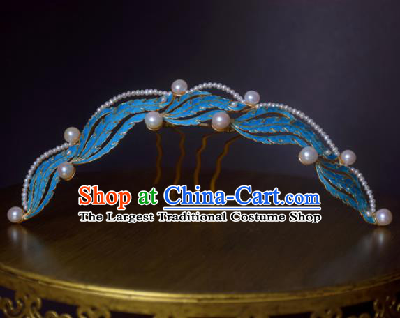 Chinese Handmade Princess Hanfu Phoenix Hair Comb Hairpins Ancient Hair Accessories for Women