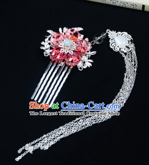 Chinese Ancient Hair Accessories Hanfu Hair Comb Handmade Hairpins for Women