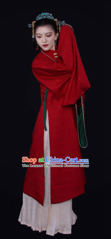 Top Grade Chinese Ancient Empress Costumes Ming Dynasty Queen Hanfu Dress for Women