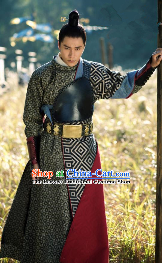 The Rise of Phoenixes Ancient Hanfu Chinese Tang Dynasty Swordsman Costumes for Men