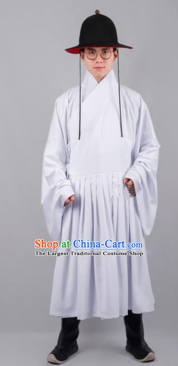 Chinese Ancient Swordsman Clothing Traditional Ming Dynasty Imperial Bodyguard Costumes for Men