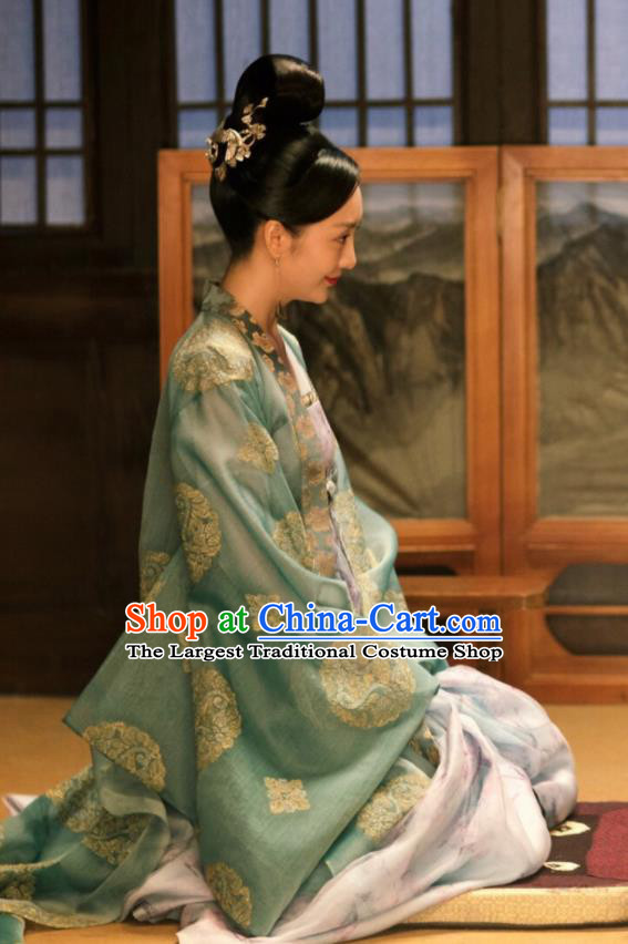 Ancient Chinese Tang Dynasty Princess Hanfu Dress The Rise of Phoenixes Palace Lady Costume for Women