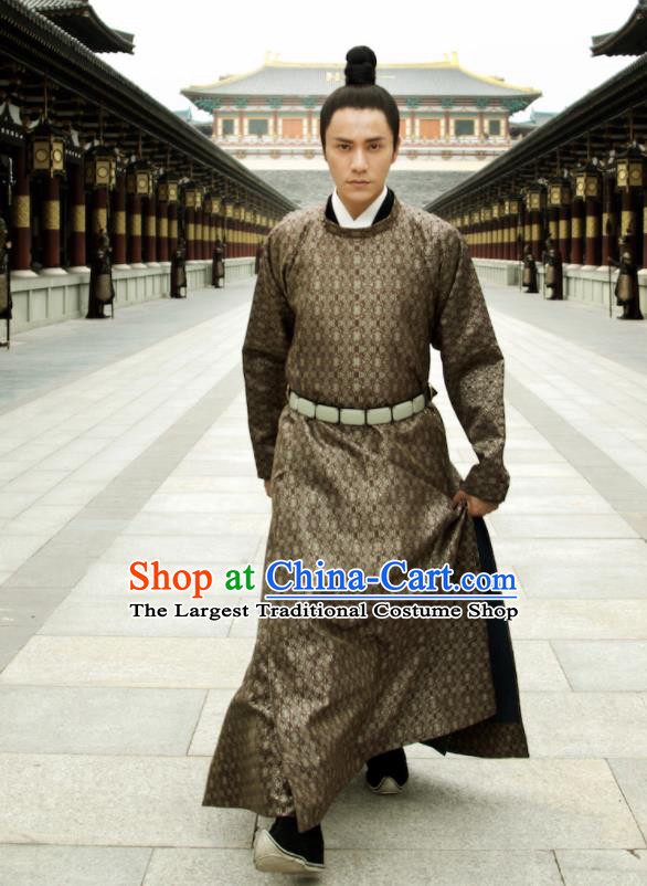 Chinese Ancient Peri Costumes Traditional Tang Dynasty Princess Swordsman Hanfu Dress