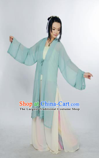 Traditional Chinese Song Dynasty Young Lady Costume Ancient Hanfu Clothing for Women