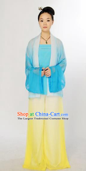 Traditional Chinese Song Dynasty Court Maid Costume Ancient Maidenform Hanfu Dress for Women