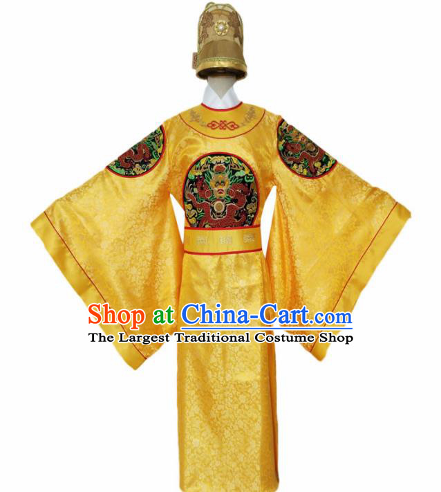 Chinese Song Dynasty Emperor Costume Ancient Imperial Robe for Men