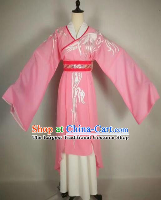 Chinese Traditional Beijing Opera Actress Pink Hanfu Dress Peking Opera Princess Costume for Adults
