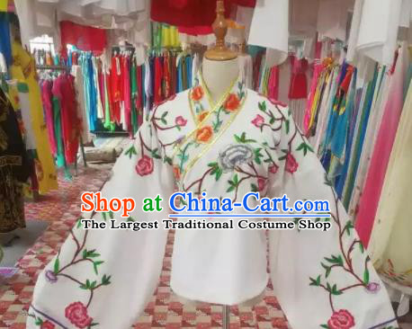 Chinese Traditional Beijing Opera Princess Embroidered Blouse Peking Opera Actress Costume for Adults