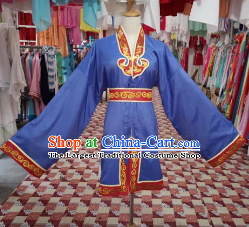 Chinese Traditional Beijing Opera Servant Costume Peking Opera Clown Clothing for Adults
