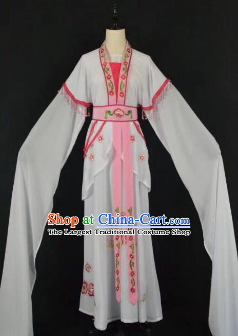 Chinese Traditional Beijing Opera Princess Water Sleeve Dress Peking Opera Actress Costume for Adults