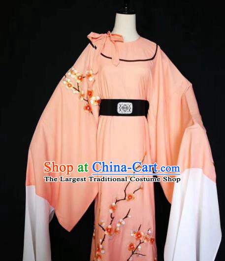 Chinese Traditional Beijing Opera Scholar Costume Peking Opera Embroidered Plum Blossom Robe for Adults