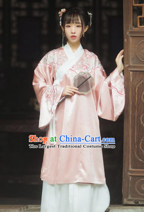 Ancient Chinese Ming Dynasty Princess Silk Historical Costumes Complete Set