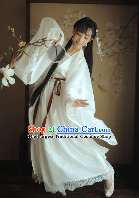 Chinese Ancient Tang Dynasty Palace Princess Replica Costumes Complete Set for Women