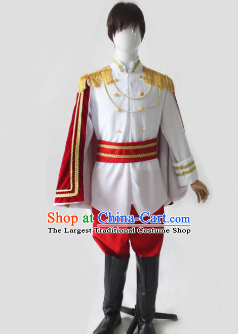 Top Grade Halloween Costumes Fancy Ball Cosplay Prince Clothing for Men