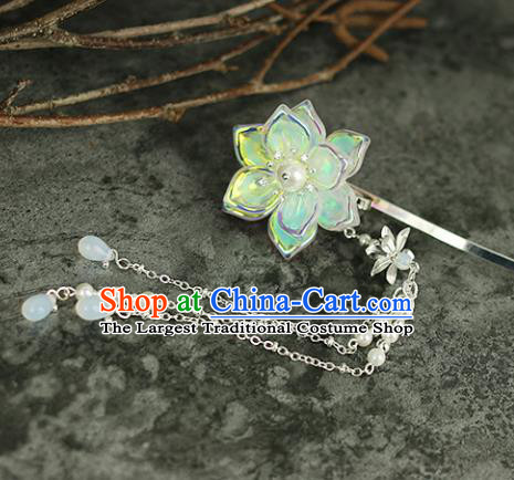 Handmade Chinese Traditional Flower Hairpins Traditional Classical Hanfu Hair Accessories for Women